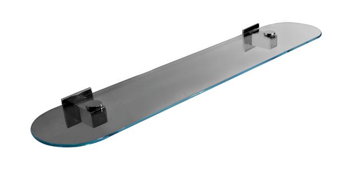 Półka szklana zaokrąglona Jedavid Evolution BD-202C