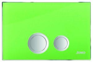 Przycisk Jomo Avantgarde 167-30001260-00 zielony świecący