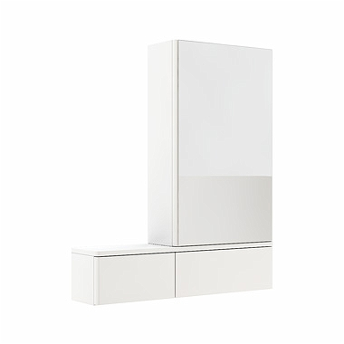 Zdjęcie Szafka wisząca z lustrem Koło Nova Pro 70cm biały połysk 88433-000 prawa