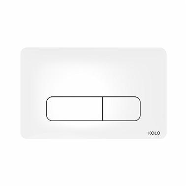 Przycisk spłukujący Koło Nova Pro biały 94160-001
