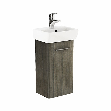 Zdjęcie Szafka pod umywalkę z umywalką Koło Nova Pro 36cm szary jesion M39007000