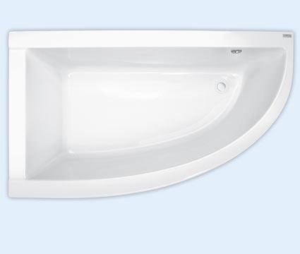 Wanna narożna asymetryczna Pool-Spa Laura Lewa 80x140cm PWANH..ZN000000