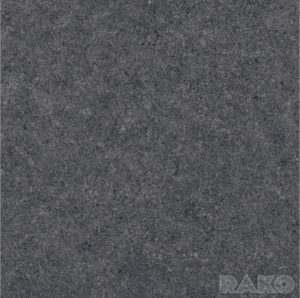 Płytka podłogowa Rako Rock czarna DAP63635 59,8x59,8 półpoler