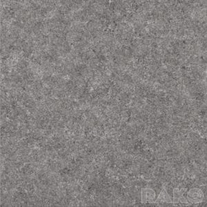 Płytka podłogowa Rako Rock ciemnoszara DAP63636 59,8x59,8 półpoler