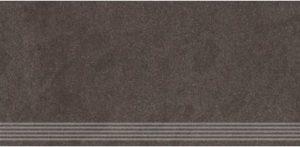 Stopnica frezowana naturalna Nowa Gala Concept 14 czarna 29,7x59,7
