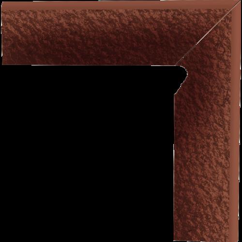 Cokół dwuelementowy strukturalny schodowy Paradyż Cloud Duro Rosa prawy 30x8,1x1,1