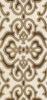 Zdjęcie Listwa ścienna Paradyż Coraline Brown inserto Classic 7×60