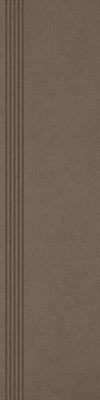 Stopnica Paradyż Intero Brown 29,8x119,8 Mat