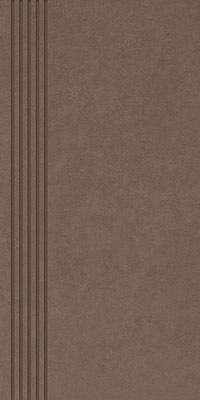 Stopnica Paradyż Intero Brown 29,8x59,8 Mat