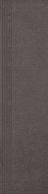 Stopnica Paradyż Intero Nero 29,8x119,8 Mat
