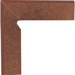 Zdjęcie Cokół dwuelementowy schodowy Paradyż Taurus Brown lewy 30×8,1×1,1