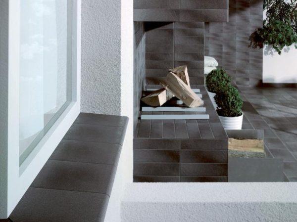 Zdjęcie Cokół dwuelementowy schodowy Paradyż Taurus Grys prawy 30×8,1×1,1