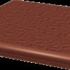 Zdjęcie Stopnica narożna Paradyż 330x330x11 z kapinosem strukturalna Natural Rosa Duro