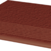 Zdjęcie Stopnica ryflowana Paradyż 300x300x11 prosta strukturalna Natural Rosa Duro