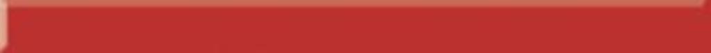 Listwa szklana uniwersalna Paradyż Red 3x40