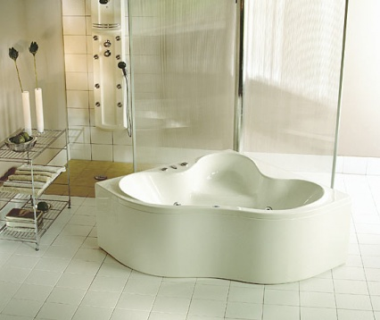 Zdjęcie Wanna narożna symetryczna Pool-Spa Persja 140x140cm PWSE3..ZN000000