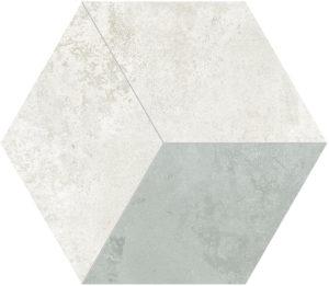 Mozaika gresowa Tubądzin Torano hex 2 34,3x29,7cm MP-01-184-0343-0297-1-064