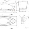 Zdjęcie Wanna wolnostojąca Marmite Riva MRM-WA-000 157x70cm