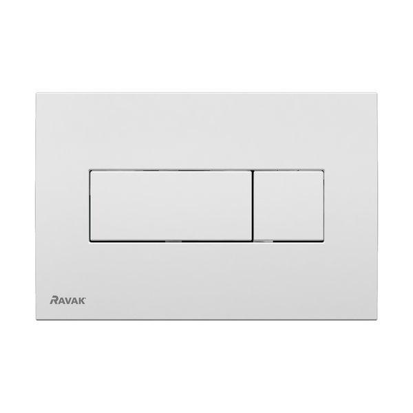 Przycisk Ravak Uni biały X01457