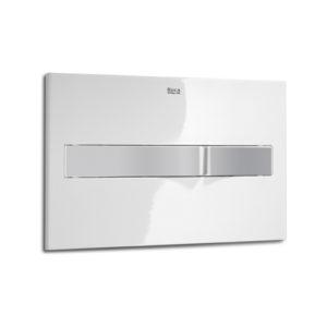 Przycisk Roca PL2 3/6 L biały/chrom-mat A890096005