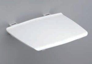 Siedzisko kąpielowe Sanswiss Ronal Comfort białe DUS1W