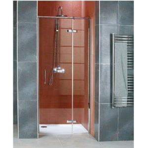 Drzwi jednoczęściowe skrzydłowe do wnęki Sanswiss Ronal Pur Light PLPD08005007 80cm Prawe^ @