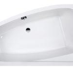 Wanna narożna asymetryczna Sanplast Free Line WAL(P)/FREE 100x140cm Lewa 610-040-0840-01-000