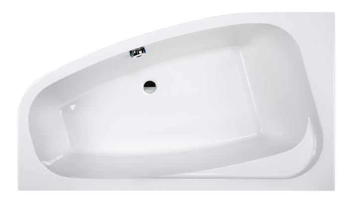 Wanna narożna asymetryczna Sanplast Free Line WAL(P)/FREE 95x155cm Lewa 610-040-0760-01-000