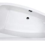 Wanna narożna asymetryczna Sanplast Free Line WAL(P)/FREE 100x140cm Prawa 610-040-0850-01-000