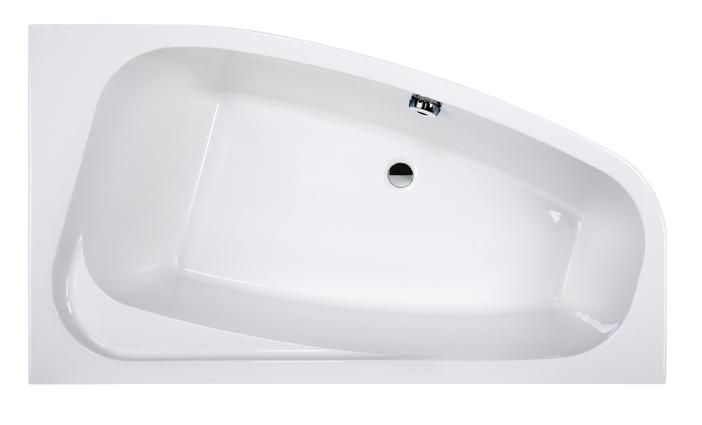 Wanna narożna asymetryczna Sanplast Free Line WAL(P)/FREE 90x140cm Prawa 610-040-0650-01-000
