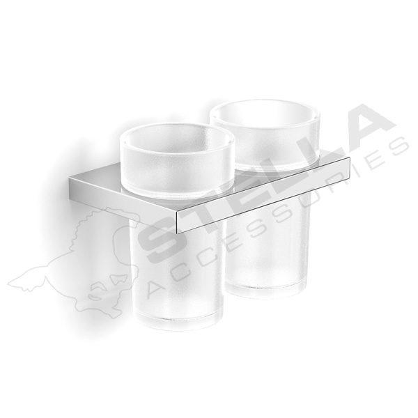 Zdjęcie Uchwyt z dwoma szklankami Stella 05.412