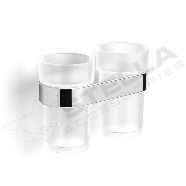 Zdjęcie Uchwyt z dwoma szklankami Stella Soul 06.412