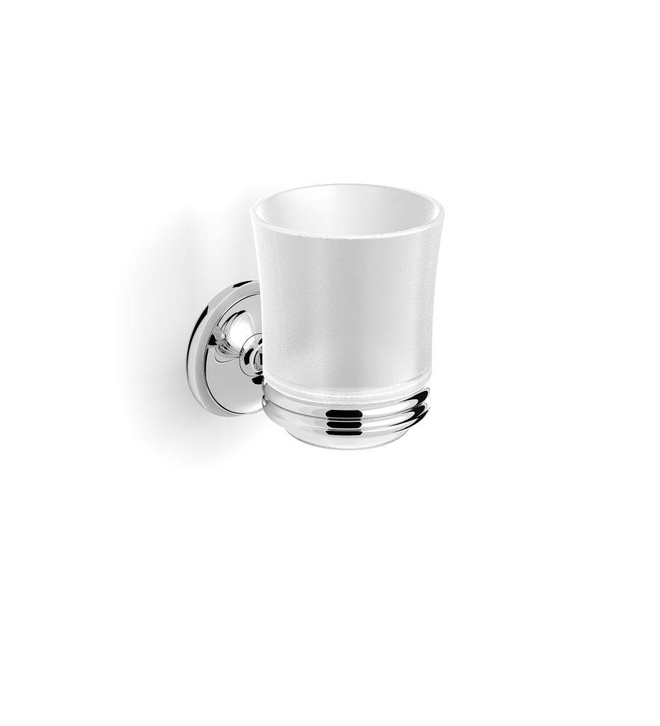 Uchwyt ze szklanką Stella Monaco Chrom 09.411