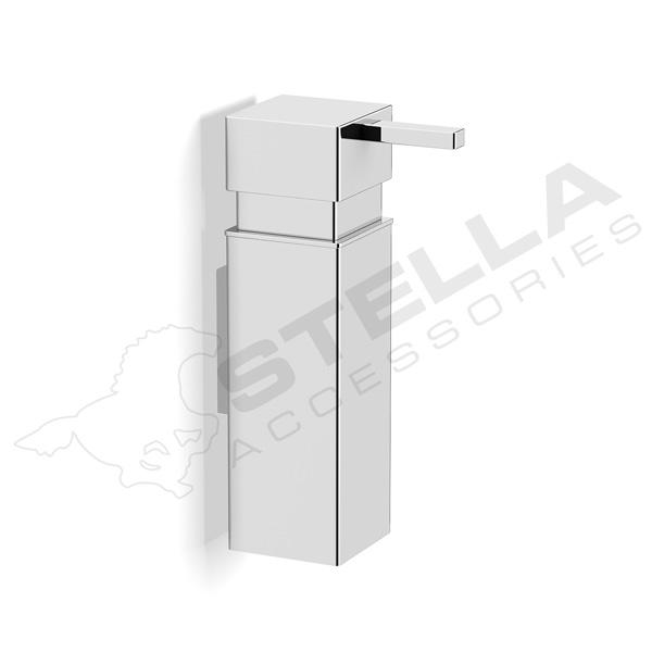 Dozownik do mydła 0,15L kwadrat Stella 17.006