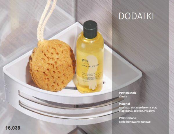Zdjęcie Dozownik do mydła 0,15L kwadrat Stella 17.006