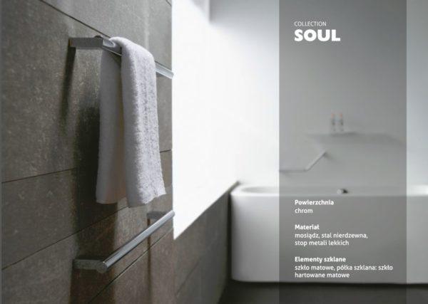 Zdjęcie Uchwyt łazienkowy prosty Stella Soul 06.910