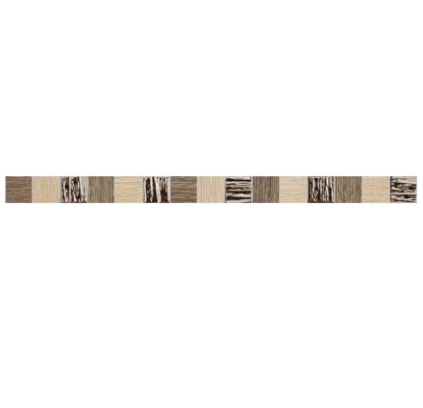 Zdjęcie Listwa ścienna Tubądzin Biloba brown 60,8×3,9