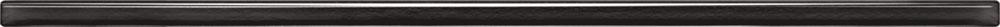 Listwa ścienna Tubądzin Glass black 1x44,8