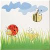 Zdjęcie Dekoracja ścienna Tubądzin Pastel Robaczki 1 200×200