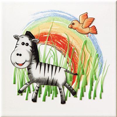 Dekoracja ścienna Tubądzin Pastel Safari 1 200x200