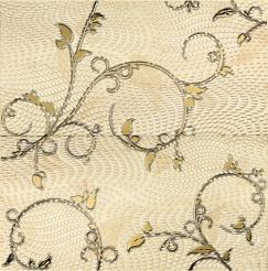 Dekoracja ścienna 2-elementowa Tubądzin Traviata ornament 60,8x61,8