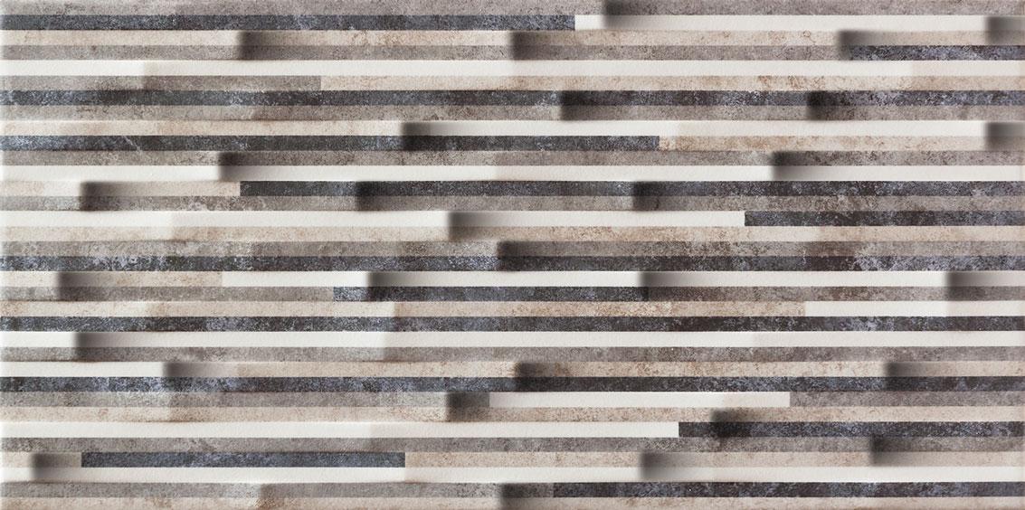 Dekoracja ścienna Tubądzin Zirconium Str 22,3x44,8