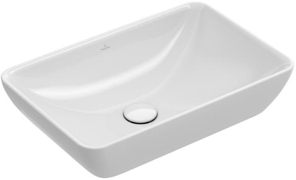 Umywalka nablatowa prostokątna Villeroy&Boch Venticello 55x36cm 41135501
