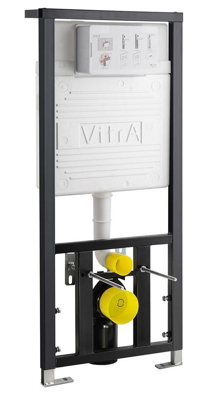 Stelaż podtynkowy Vitra + przycisk Chrom Mat 742-5800-01+740-0485