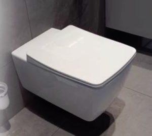 Miska wisząca WC z deską wolnoopadającą Vitra Metropole Slim długa 56x36cm 5676B003-0075+102-003-009