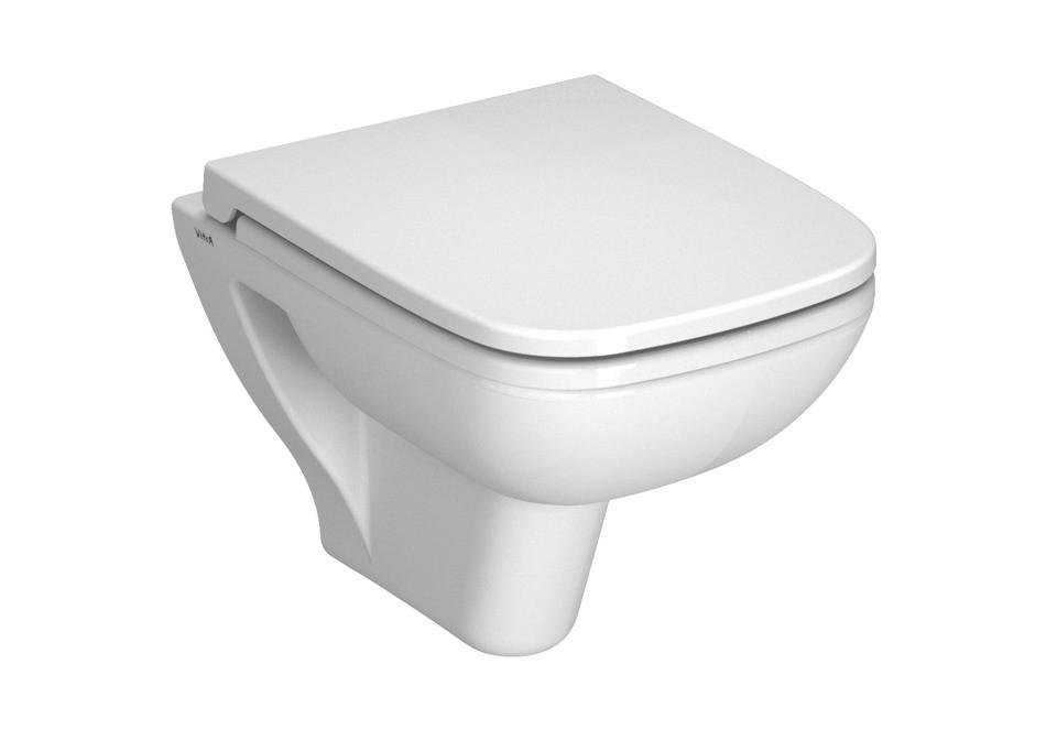 Miska wisząca WC z deską wolnoopadającą Vitra S-20 5505L003-0101+77-003-009