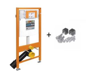 Stelaż WC do miski wiszącej Jomo JomoTech H112 ze wspornikami 174-91100700-00