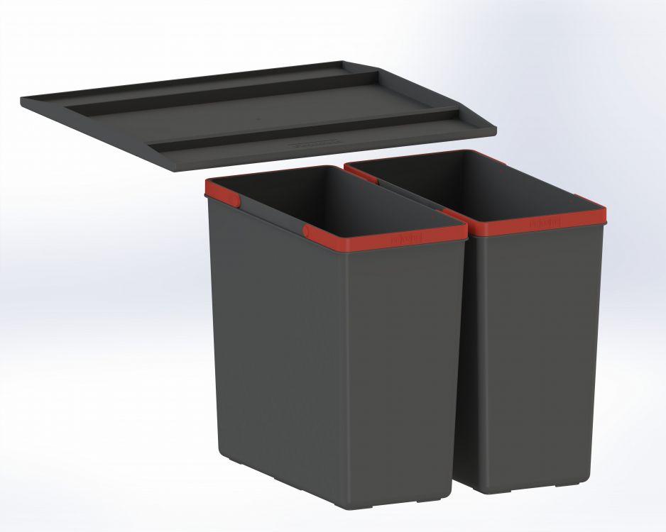 Sortownik odpadów z półką Franke Easysort 450-2-0
