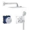 Zdjęcie GROHE Grohtherm SmartControl Podtynkowy zestaw prysznicowy 34742000
