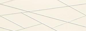 Dekor ścienny Tubądzin House of Tones white 32,8x89,8cm